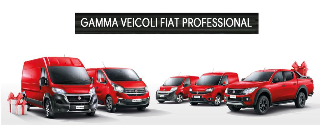 Gamma veicoli commerciali Fiat Professional