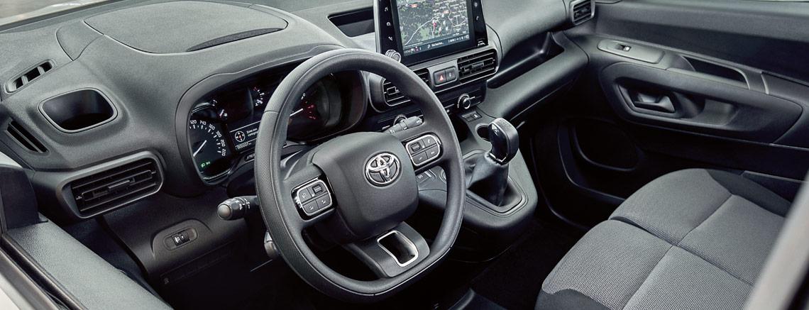 Toyota Proace interni