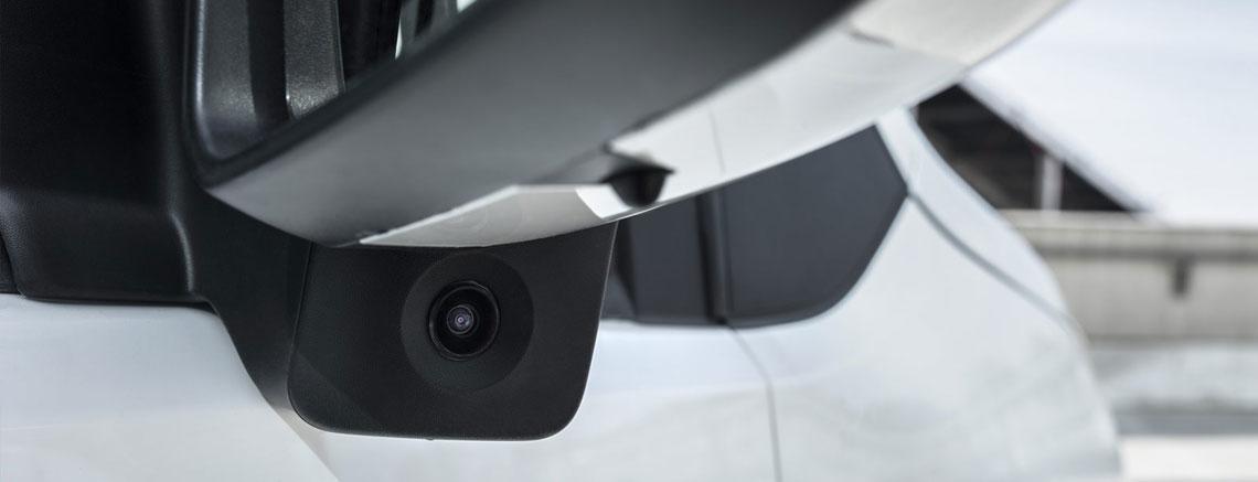 Toyota Proace telecamera
